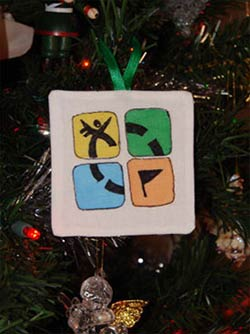 Buzz Article: Kickin' off the holiday season with a geocaching Christmas party