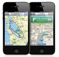 Buzz Article: The new iOS scraps Google maps in place of Apple's own