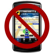 Buzz Article: Massachusetts new law bans cell phone use, including navigation.