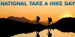 Buzz Article: Take a hike! No, really, it's National Take a Hike Day