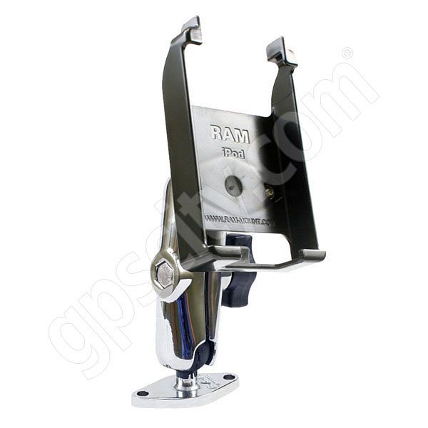 RAM Mount Chrome Apple iPod classic Series Mini Screw Down Mount
