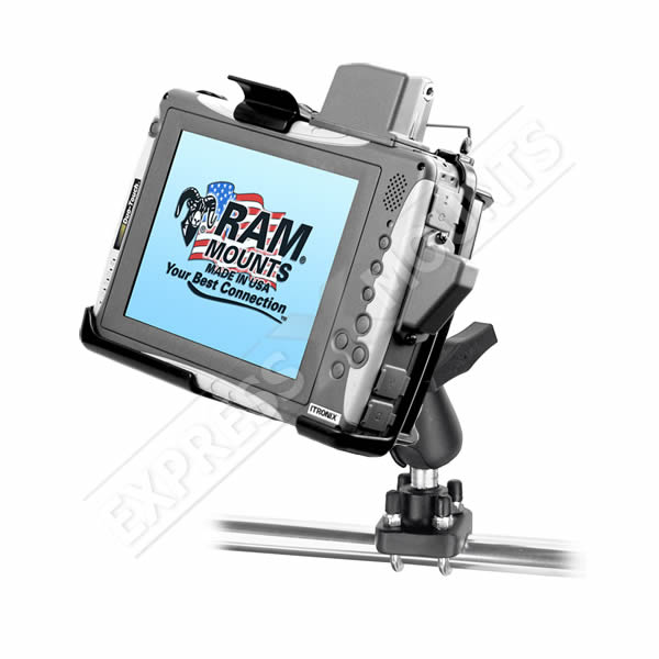 RAM Mount Itronix Duo Touch Tablet Round Pole U-Bolt Mount