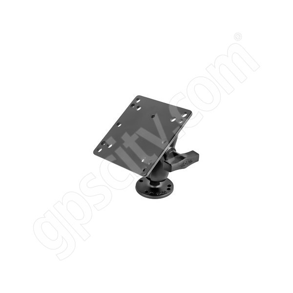 RAM Mount Screw Down Swivel VESA Mount on Short Arm RAM-101U-B-246