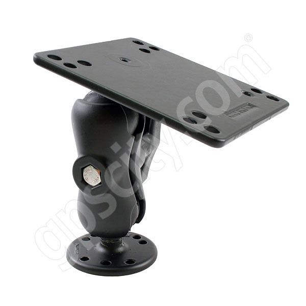 RAM Mount VESA Plate on Short Arm Round Base Mount