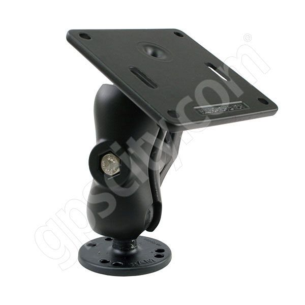 RAM Mount VESA 75mm Plate on Short Arm Round Base Mount