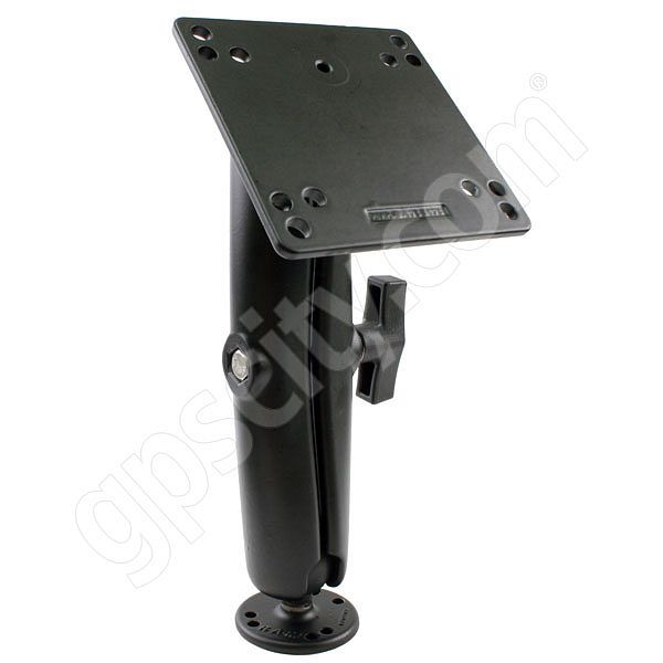 RAM Mount 7.88 inch Arm on 2.5 inch Plate and 4.75 inch Sq. Plate