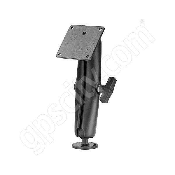 RAM Mount VESA 75mm Plate on Long Arm Reinforced Post 1.5 inch Mount