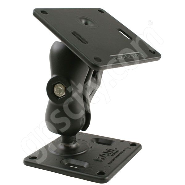 RAM Mount Dual 75 VESA Plate Short Arm Mount