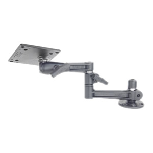 RAM Mount Horizontal Post Dual Swing Arm VESA Plate Mount