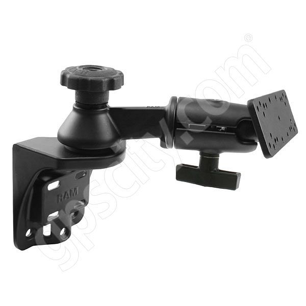 RAM Mount Vertical Straight Swing Arm with Ball Plate