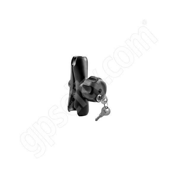 RAM Mount Locking Standard Length Dual 1.5 inch Socket Arm with Steel Thread