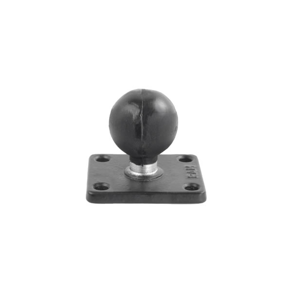 RAM Mount Rectangular 2 x 2 inch Plate with 1.5 inch Ball