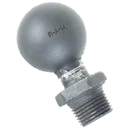 RAM Mount Male 0.5 inch NPT Thread with 1.5 inch Ball