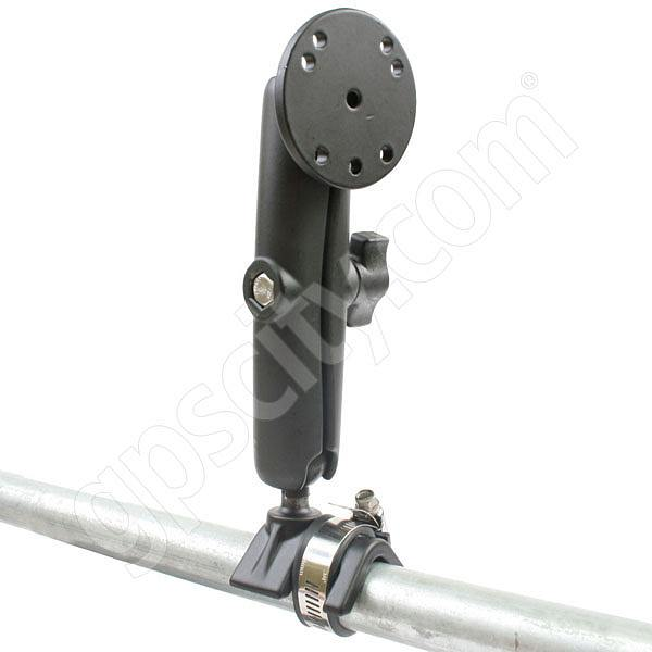 RAM Mount Strap Rail Base with Long Arm Round Assembly