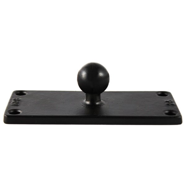 RAM Mount Rectangular 2 x 3 inch Plate on 1 inch Ball