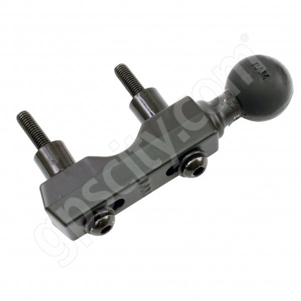 RAM Mount Motorcycle Handle Base with Single 1 inch Ball