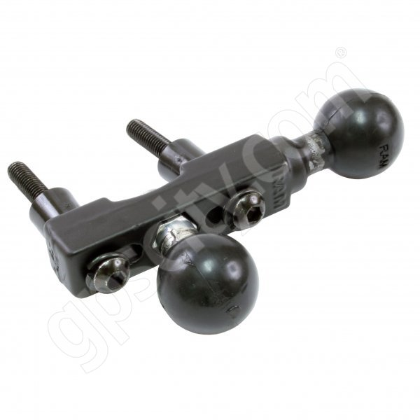 RAM Mount Motorcycle Handle Base with Dual 1 inch Ball