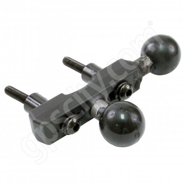 RAM Mount Motorcycle Handle Base with Double 1 inch Ball