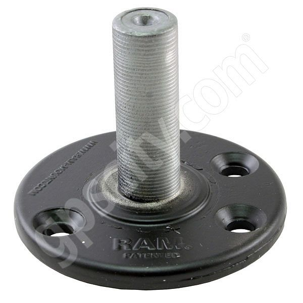RAM Mount Round 3.68 inch Plate with 0.85 inch Post