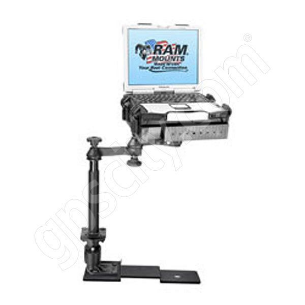 RAM Mount Ford F150 Dual Arm Laptop Vehicle Adjustable Riser Mount