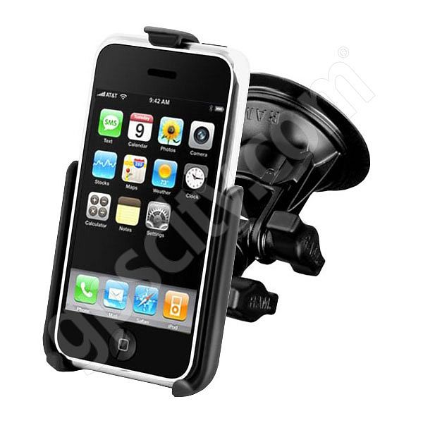 RAM Mount iPhone 3G 3GS Suction Mount RAP-B-104-224-AP6