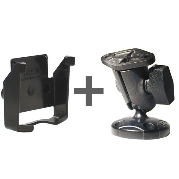 RAM Mount Garmin iQue 3600 Short Screw Mount RAP-B-104-GA10U