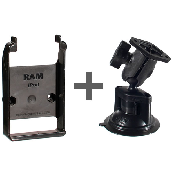RAM Mount Apple iPod classic Short Suction Cup Mount