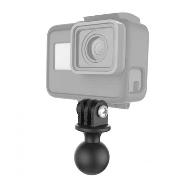 RAM Mount Plastic GoPro Camera Adapter 1 inch B-Ball RAP-B-202U-GOP1 Additional Photo #2