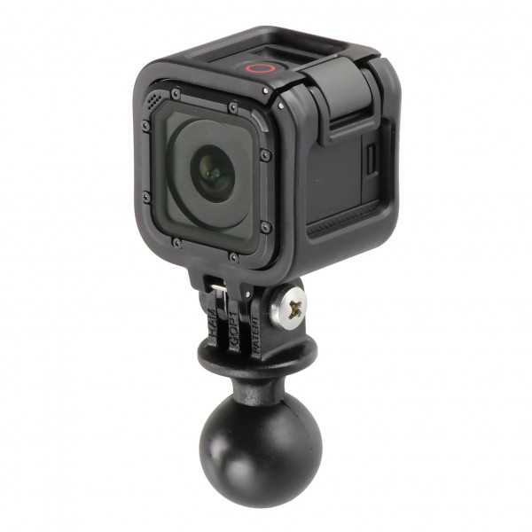 RAM Mount Plastic GoPro Camera Adapter 1 inch B-Ball RAP-B-202U-GOP1 Additional Photo #3