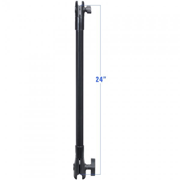 RAM Mount Plastic 14 inch Extension Pole with 1 inch and 1.5 inch Socket
