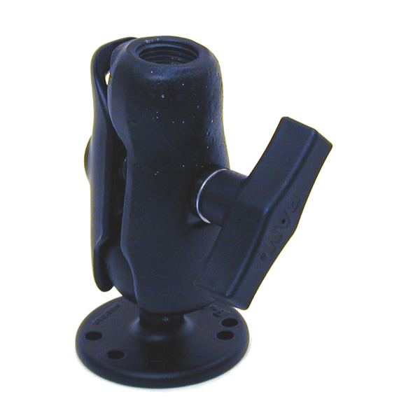 RAM Mount 0.5 inch NPT Thread Arm on Round Base