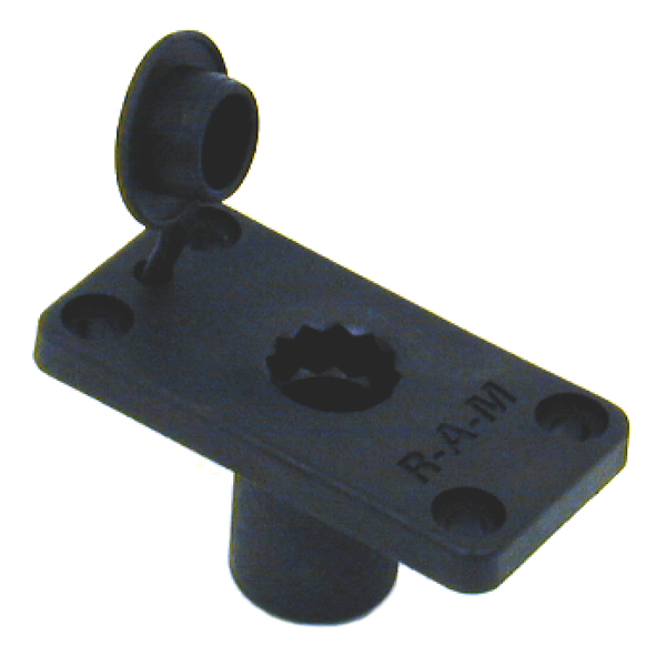 RAM Mount Plastic ROD 2000 Post Flush Base