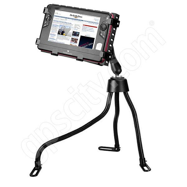 RAM Mount Tough Tray II Vehicle Netbook Mount with Ball Arm