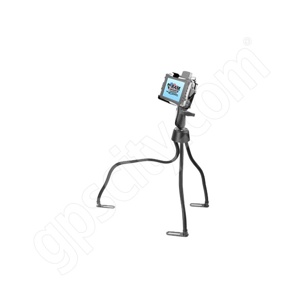 RAM Mount Itronix Duo Touch Tablet Cradle on Flex Arm Floor Mount