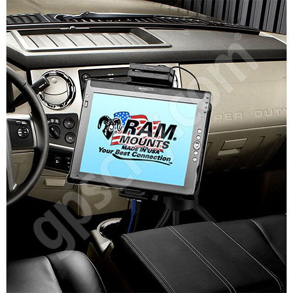 RAM Mount Motion Computing LE1600 and LE1700 Vehicle Floor Mount