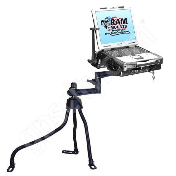 RAM Mount Vehicle Toughbook Mount Dual RAM-316-3PAN1M-2