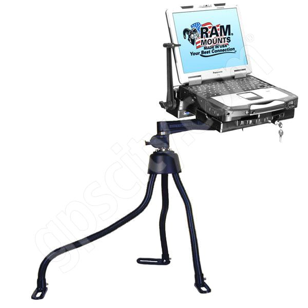 RAM Mount Vehicle Toughbook Mount Swing RAM-316-3PAN1P-1