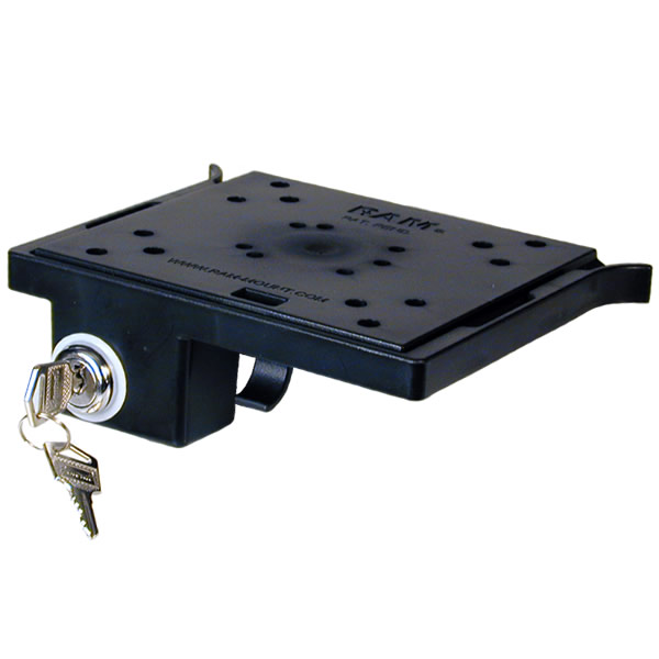 RAM Mount Slick-n-Lock Plate with Lock