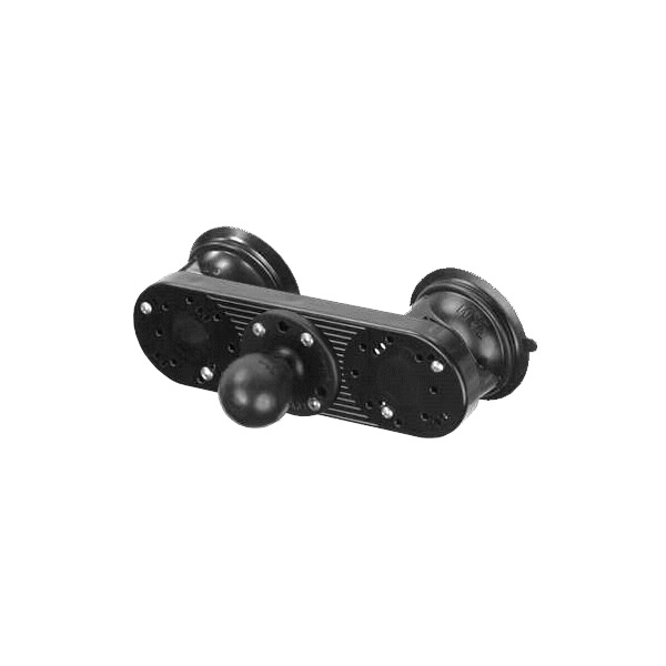 RAM Mount Dual Suction Mount Base with Ball RAM-224-333U