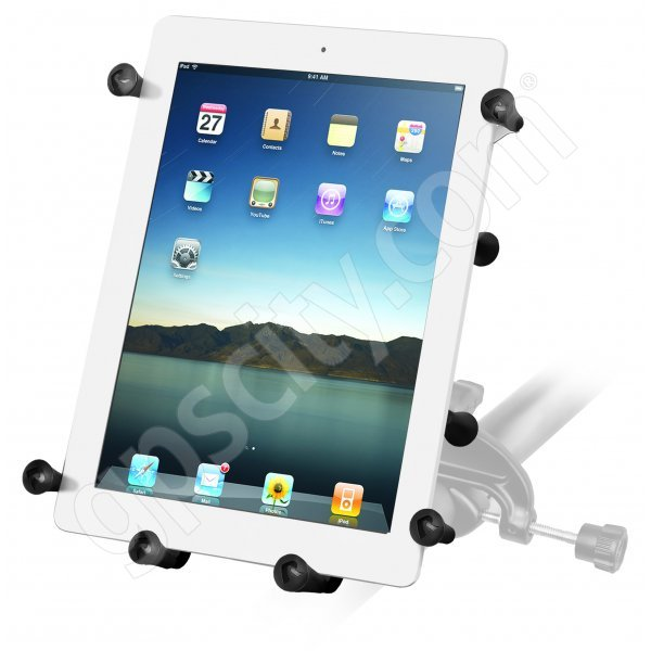 RAM Mount Universal X-Grip III iPad Tablet Cradle Yoke Mount RAM-B-121-UN9U Additional Photo #1