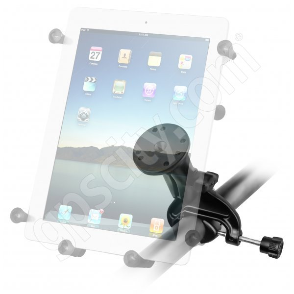 RAM Mount Universal X-Grip III iPad Tablet Cradle Yoke Mount RAM-B-121-UN9U Additional Photo #2