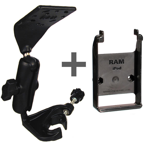 RAM Mount Apple iPod classic Yoke Extension Aviation Mount
