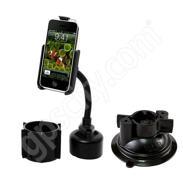RAM Mount Apple iPhone Series Vehicle Cup and Suction Mount