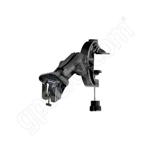 RAM Mount Universal Clamp Mount with Belt Button Clip