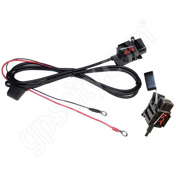 3BR Powersports TAPP 2.1 Amp USB Power Port with Mount Saddle