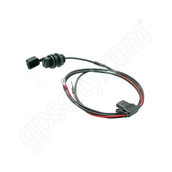 3br powersports panel tapp 2 1 amp usb power port with mount saddle