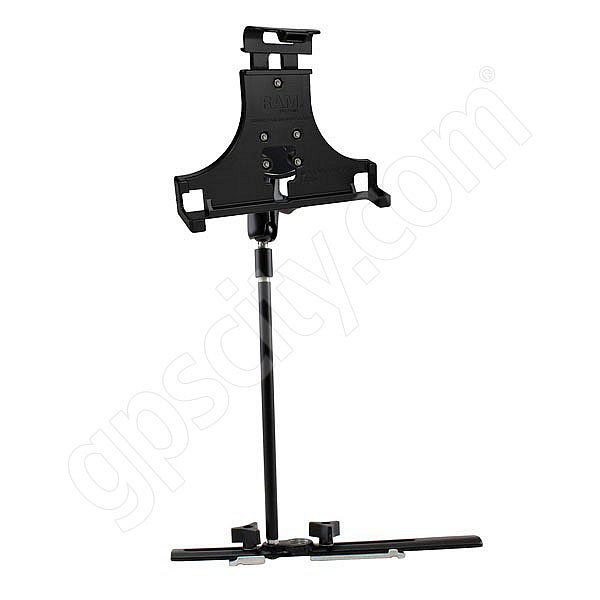 RAM Mount Motion Computing LS800 Tablet Cessna Seat Rail Mount