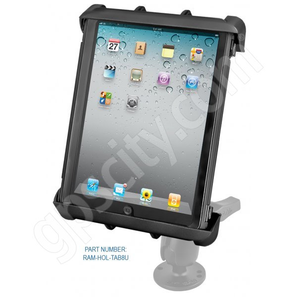 RAM Mount Tab-Tite Large Tablet Flat Surface Rugged Mount 1.5 inch Ball