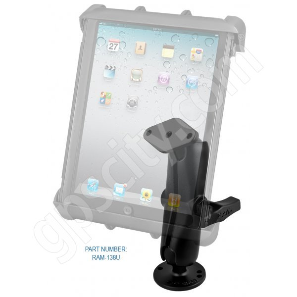 RAM Mount Tab-Tite Large Tablet Flat Surface Rugged Mount 1.5 inch Ball Additional Photo #1