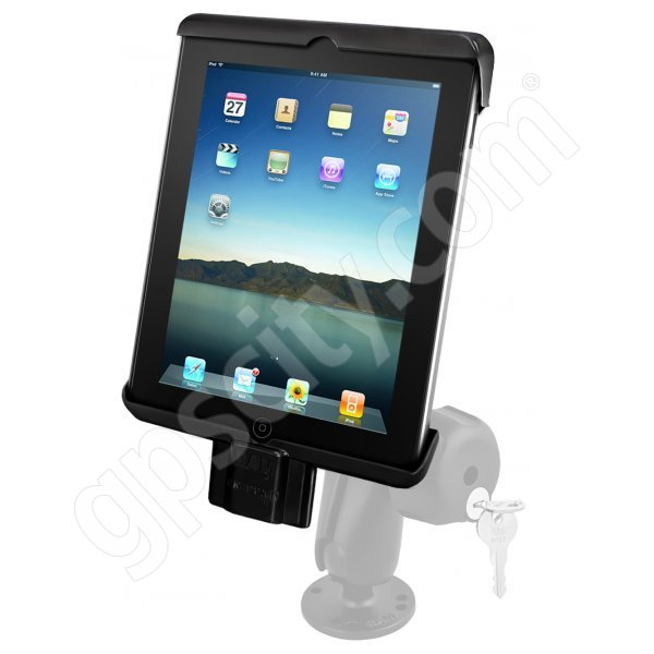 RAM Mount Universal iPad Tab-Lock Uni-Conn Locking Swivel Mount RAM-138-TABDL7U